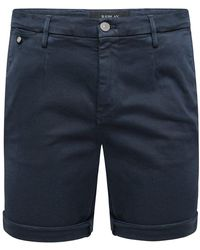 Replay Chino Hyperflex Shorts - Blue