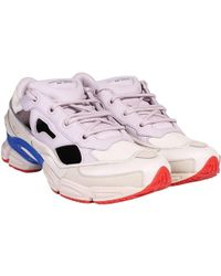 adidas By Raf Simons Replicant Ozweego Sneakers Brown & Cream