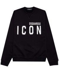 DSquared² Men's Icon Jumper Black