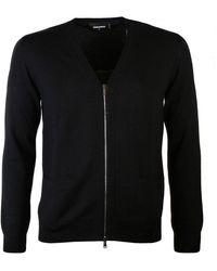 DSquared² Zipped Cardigan Black