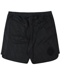 McQ Mcq Graphic Print Shorts Colour: - Black