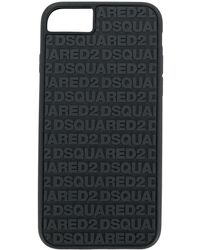 DSquared² - 2 Multi Logo Iphone 6, 6s,7 & 8 Case Black - Lyst