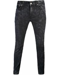 BLK DNM - Stonewashed Skinny 25 Jeans Black - Lyst
