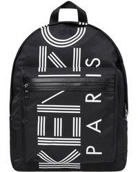 KENZO - Large Logo Backpack - Lyst