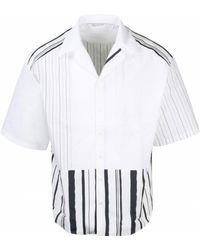 Neil Barrett Open Collar Shirt - White