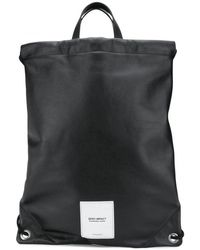 Maison Margiela Zero Impact Backpack Colour: Black