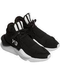 Y-3 Kaiwa Knit Trainers - Black