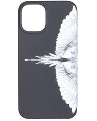 Marcelo Burlon Wings Iphone 12 Case - Black