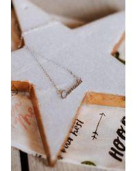 Three Bird Nest - Canada Charm Necklace - Lyst