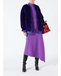 Tibi - Merino Rib Sculpted Sleeve Pullover - Lyst