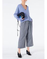 Tibi - Gingham Bianca Cropped Pants - Lyst