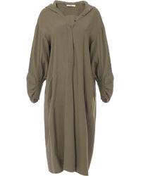 Tibi - Hoodie Shirtdress - Lyst