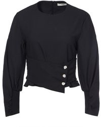 Tibi - Corset Cropped Top - Lyst