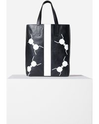 Tibi Le Client Tote Bag - Black