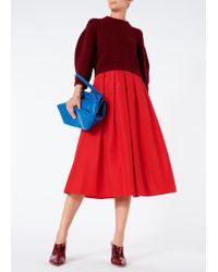 Tibi - Silk Faille Full Skirt - Lyst