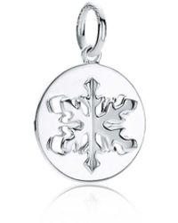 Tiffany & Co. Tiffany Charms Snowflake Charm - Metallic