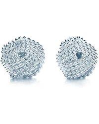 Tiffany & Co. - Tiffany Twist Knot Earrings - Lyst