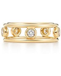 659fcf20d3718 Elsa Peretti. Diamonds By The Yard. Ring In 18c Gold With Diamonds - 7