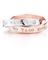 Tiffany & Co. - Interlocking Ring - Lyst