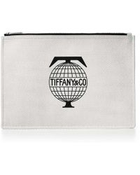 Tiffany & Co. - Tiffany Travel Flat Pouch In Canvas, Large - Lyst