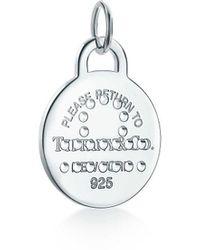 Tiffany & Co. Return To Tiffanytm Zodiac Libra Round Tag Charm - Metallic