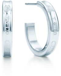 Tiffany & Co. - Hoop Earrings - Lyst