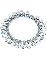 Tiffany & Co. Return To Tiffanytm Multi-heart Tag Bracelet - Metallic