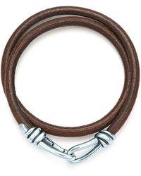 Tiffany & Co. Knot Double Braid Wrap Bracelet - Metallic