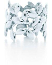 Tiffany & Co. Olive Leaf Band Ring - Green