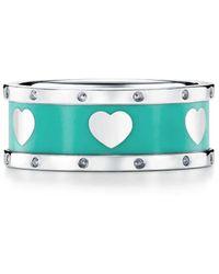 Tiffany & Co. Return to TiffanyTM Love schmaler Herzring - Mettallic