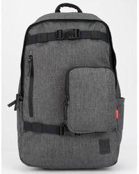 Nixon Smith Charcoal Backpack - Gray