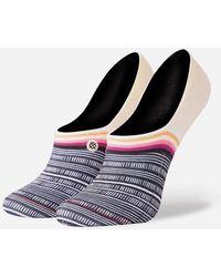 Stance - Tiki Talk Super Invisible 2.0 Womens Socks - Lyst