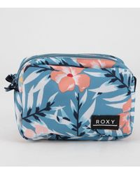 Roxy Morning Vibes Blue Pencil Case