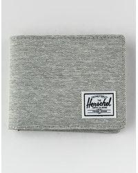 Herschel Supply Co. Roy Light Gray Wallet