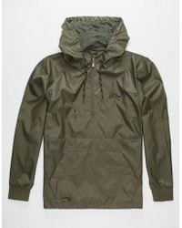 3a7e260a9 Nct Helix Mens Anorak Jacket - Green