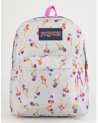 Jansport - Superbreak Cones And Scoops Backpack - Lyst