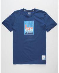 ee27aef37e01 PUMA - X Pink Dolphin Innerwave Mens T-shirt - Lyst