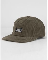 Huf 1993 Logo Mens Strapback Hat - Green