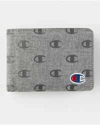 Champion Rhyme Heather Gray Wallet