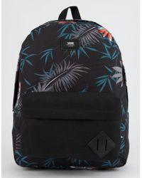 Vans - Old Skool Ii Peace Out Floral Backpack - Lyst