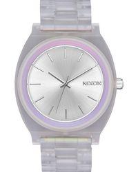 Nixon Time Teller Acetate Bracelet Watch - Metallic