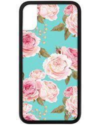 Wildflower Blue Floral Iphone 6+/7+/8+ Plus Case