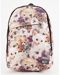 Neff Daily Kitty Backpack - Multicolor