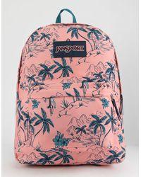 Jansport Superbreak South Pacific Backpack - Pink