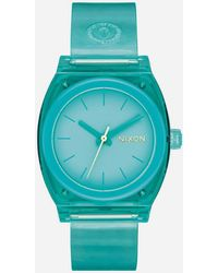 Nixon - Time Teller P Turquoise Watch - Lyst