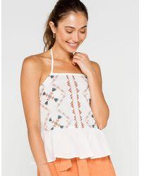 O'neill Sportswear Nikole Womens Halter Top - White