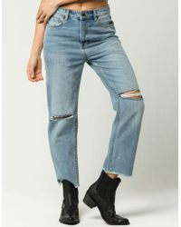 Amuse Society - Jennings Womens Boyfriend Jeans - Lyst