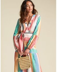 Billabong X Sincerely Jules So Clutch Handbag - Natural