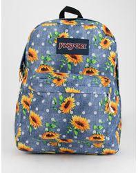 Jansport Superbreak Sunflowers Backpack - Multicolor