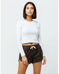 Billabong - Road Trippin Off Black Womens Shorts - Lyst
